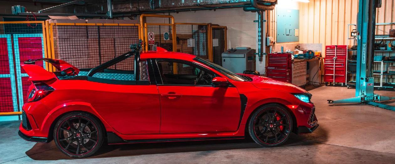 Honda Develops a Civic Type R Pickup