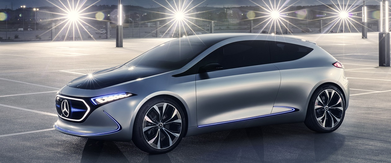 Mercedes-Benz Announces Compact Electric Car