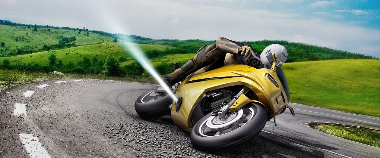 Bosch Develops Air Blasters for Motorcycles