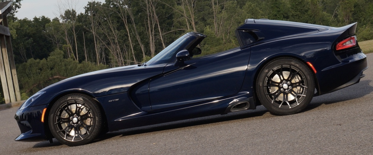Prefix Converts the Discontinued Viper into a Targa Top