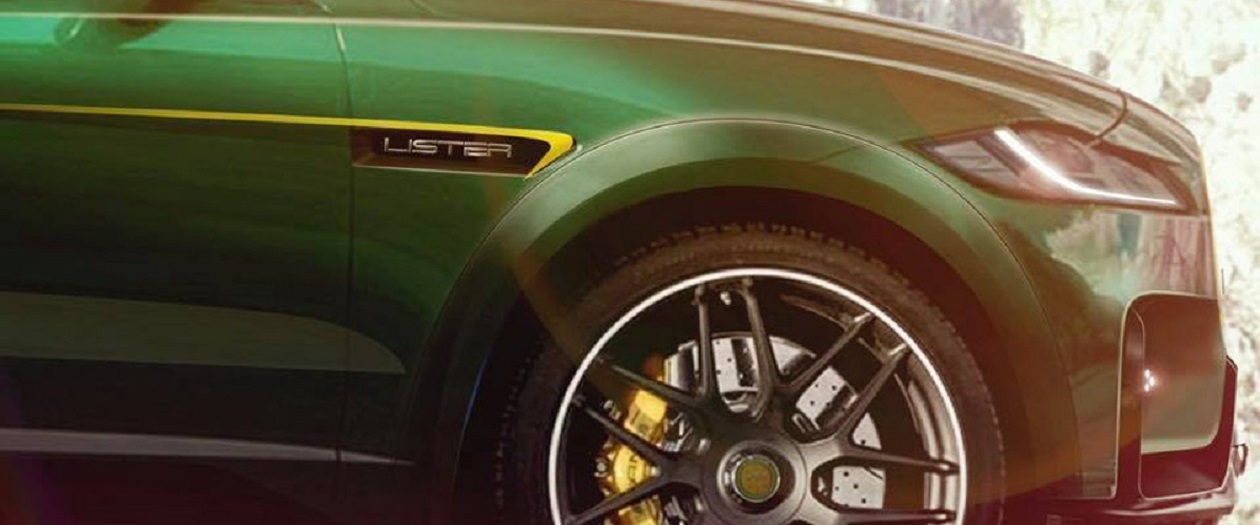 "Lister Teases ""World's Fastest SUV"""