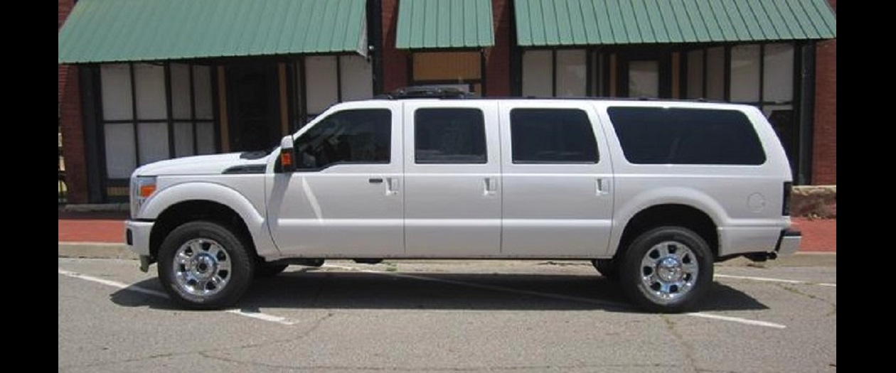 This Mod Shop is Making Six Door Ford Excursion SUVs