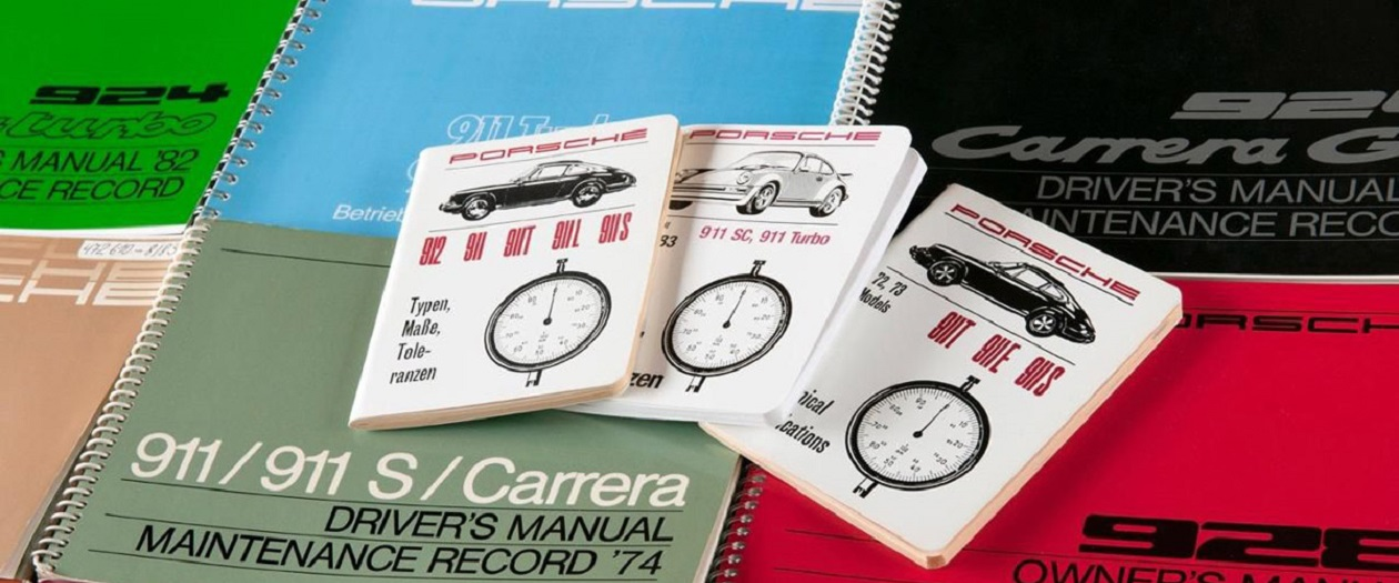 Porsche Now Offers Original Manuals For All Classic Models
