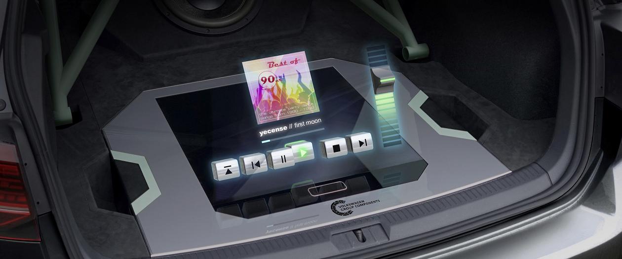 Volkswagen Reveals Hologram Infotainment Technology