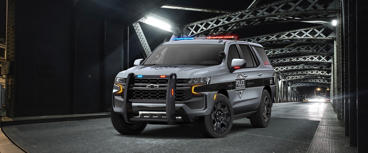 Chevy Unveils two 2021 Tahoe Police Models