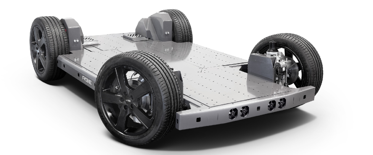 This EV Platform Holds Steering, Suspension, More in the Wheels