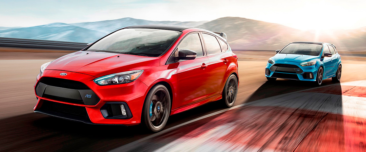 Ford Puts an End to the Focus RS and Sends It off in Red with an LSD
