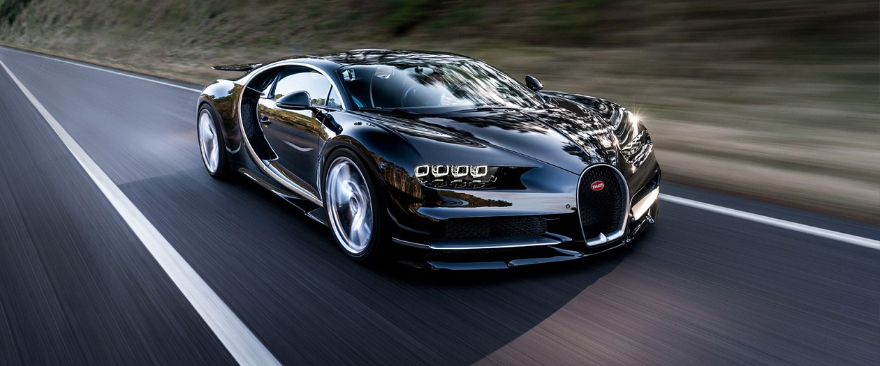 The Bugatti Chiron's Top Speed Cannot be Measured