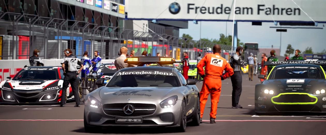 Gran Turismo Sport Uses Virtual Reality Headset