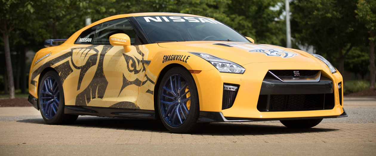 Nissan Donates GT-R to Nashville Predators Foundation