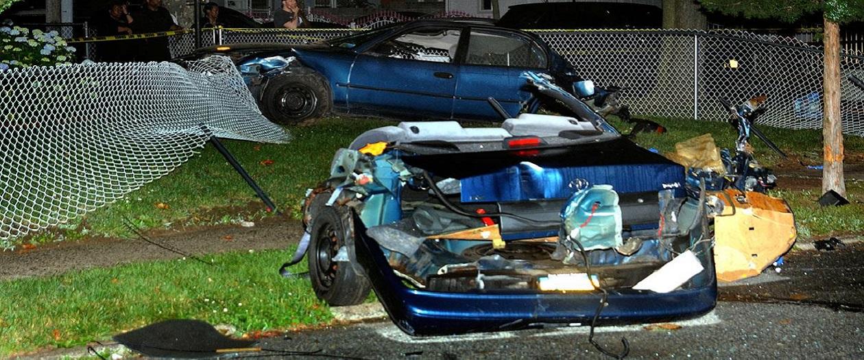 Crash in Queens Splits Vehicle in Half, Causing Two Deaths