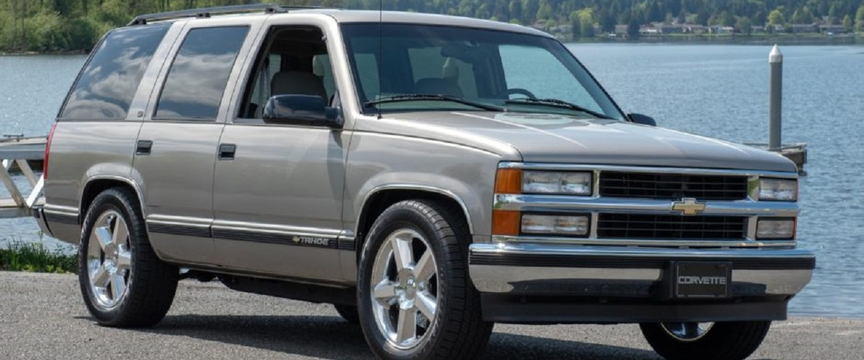 This Chevy Tahoe has a Corvette ZR1 Engine