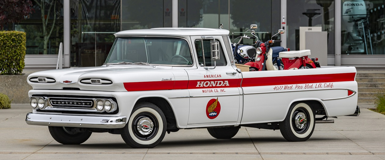 Honda Restores 1960's Chevy Pickup To Honor Their Roots