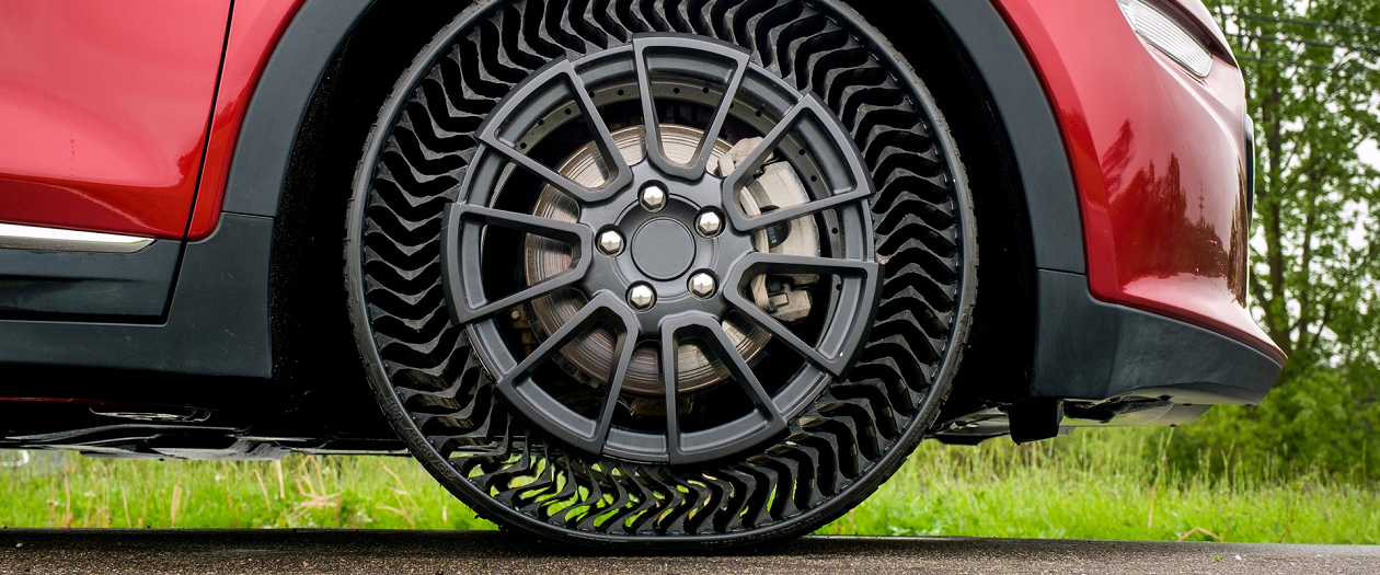 GM Partners with Michelin for UPTIS, the Airless Tire