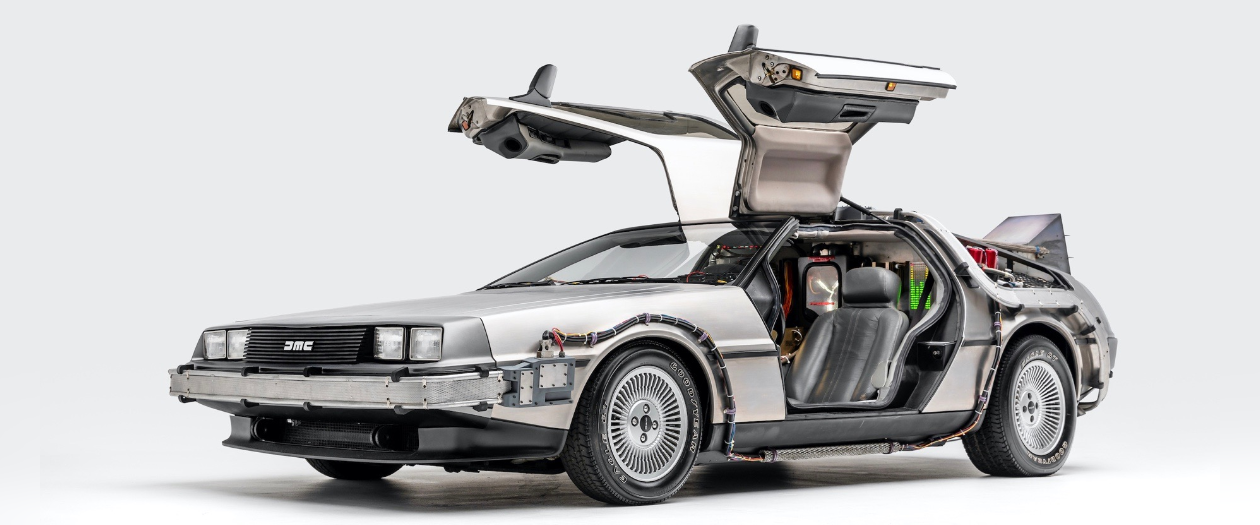 The Back to the Future DeLorean to be Added to the National Historic Vehicle Register