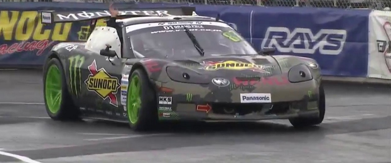 Daigo Saito Performs Cleanest Donuts in the World