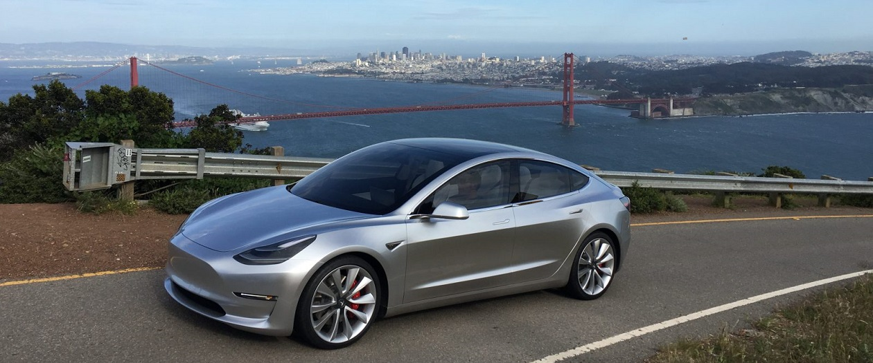 Inside Look at the Production Tesla Model 3