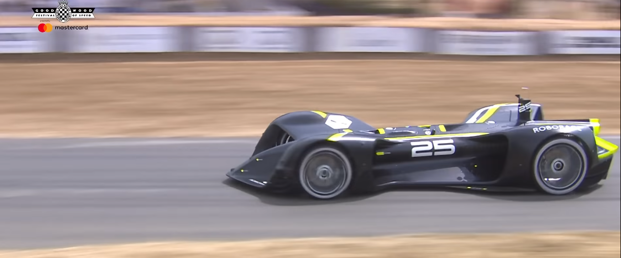 Robocar Becomes the First Autonomous Vehicle to Climb the Hill at Goodwood