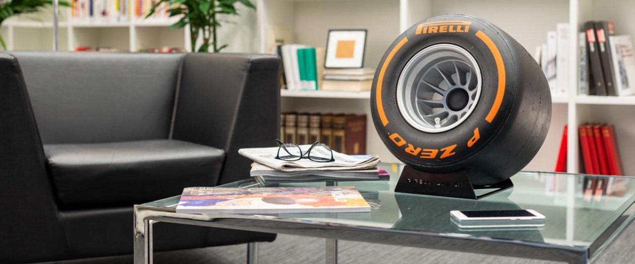 Pirelli Design Creates Music-Playing F1 Tires