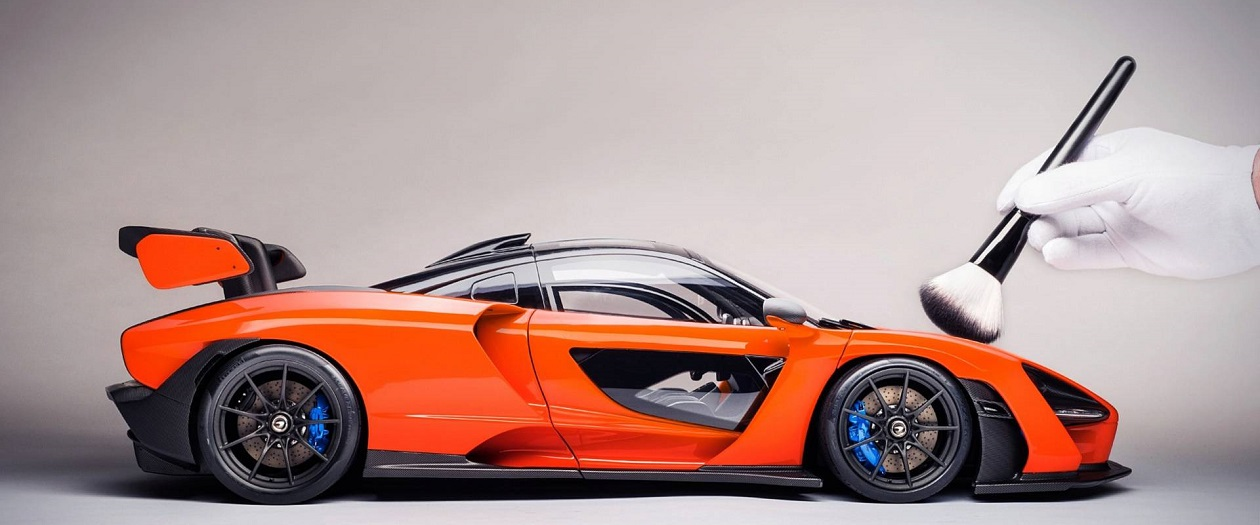 You Can Buy a Model McLaren Senna for $8,184