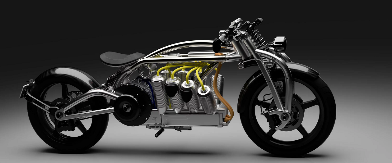 The Zuess Radial V8 is a Tough Looking Electric Motorcycle