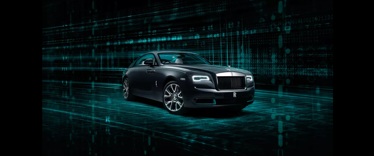The Rolls-Royce Wraith Cryptos is a Car full of Secret Codes