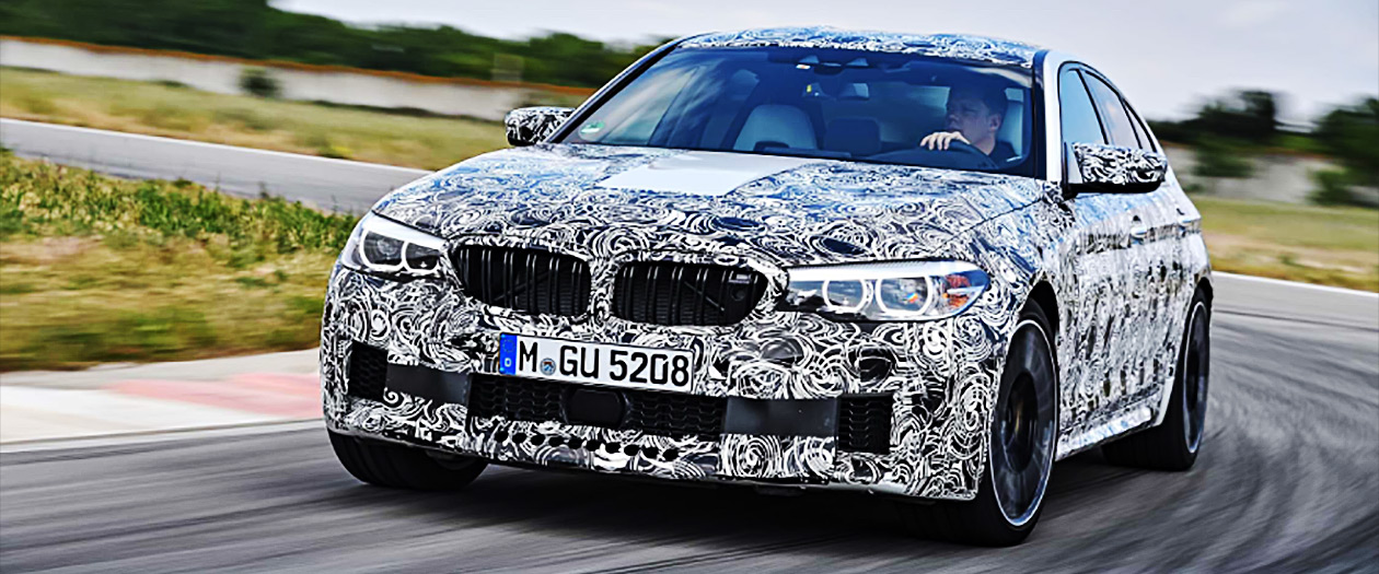 The New Innovative BMW M5