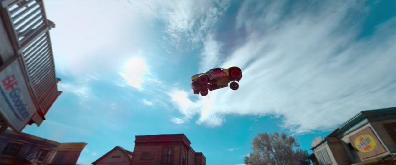 360-Degree Look at a 379.4-Foot Off-Road Truck Jump