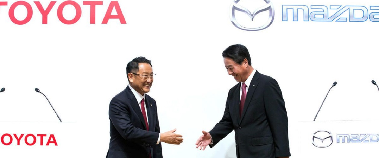 Toyota and Mazda Partner to Build $1.6 Billion Assembly Plant