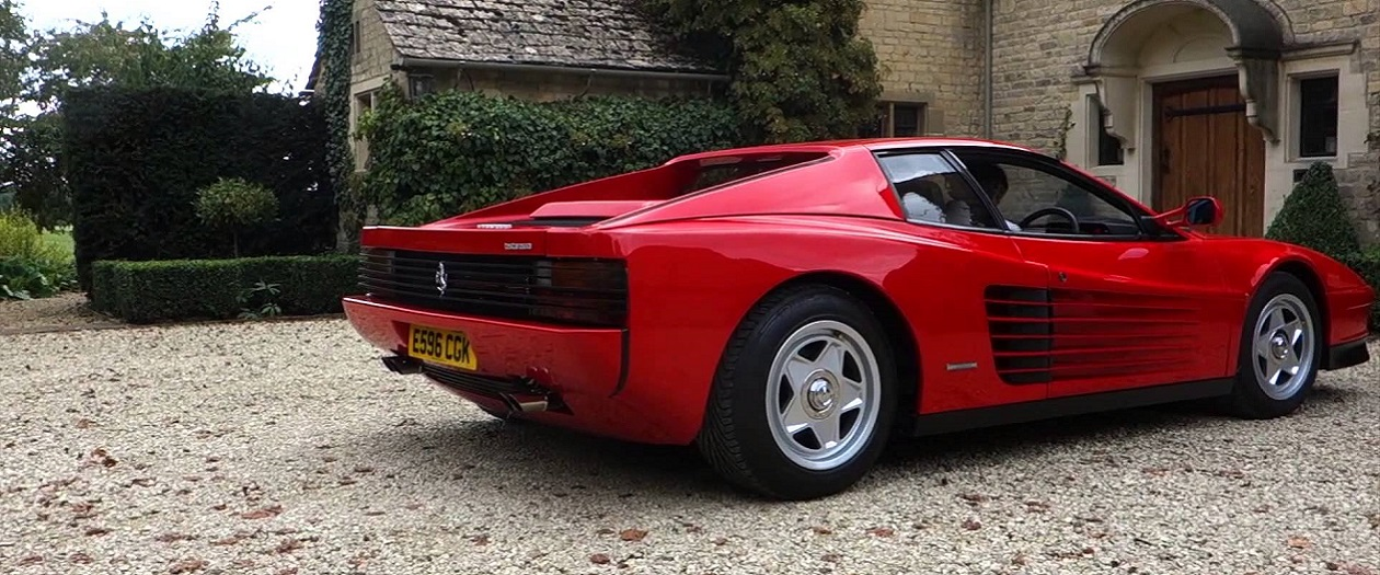 Ferrari Loses the Right to the Testarossa Name
