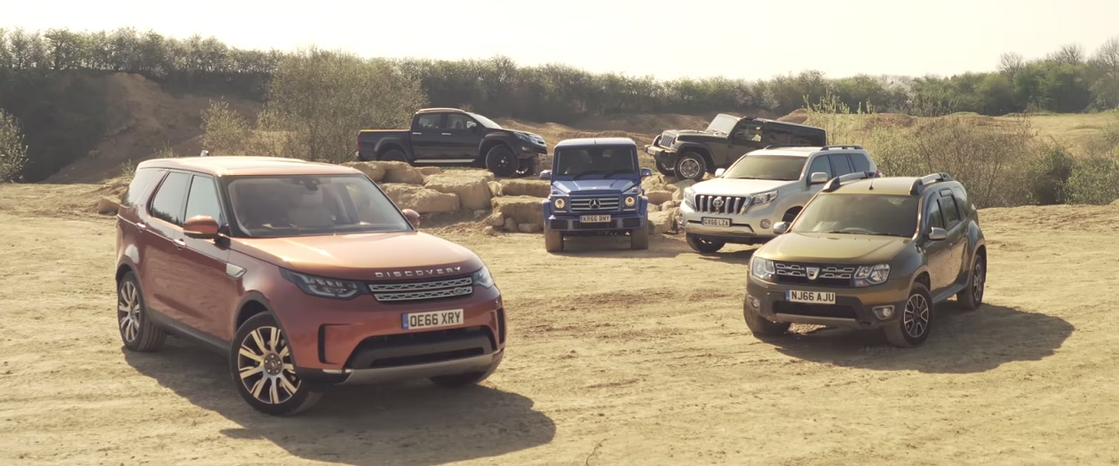 Watch as Autocar Tries to Find the Best Off-Road 4x4