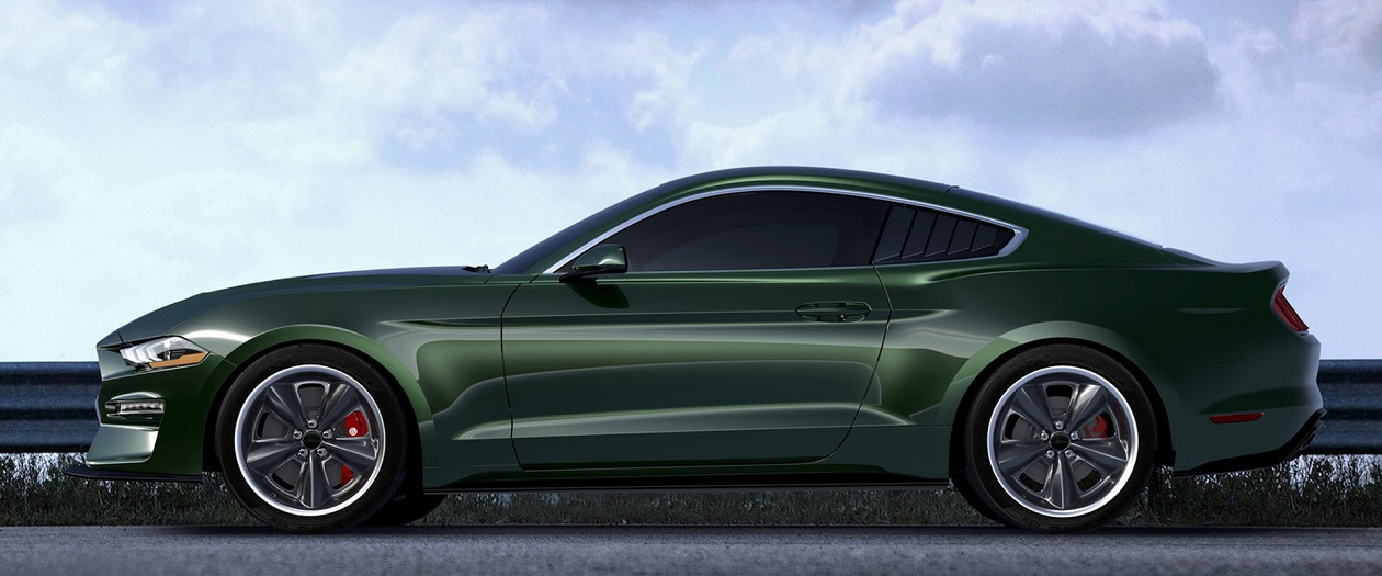Steeda Develops the Steve McQueen Edition Mustang Bullitt 2019