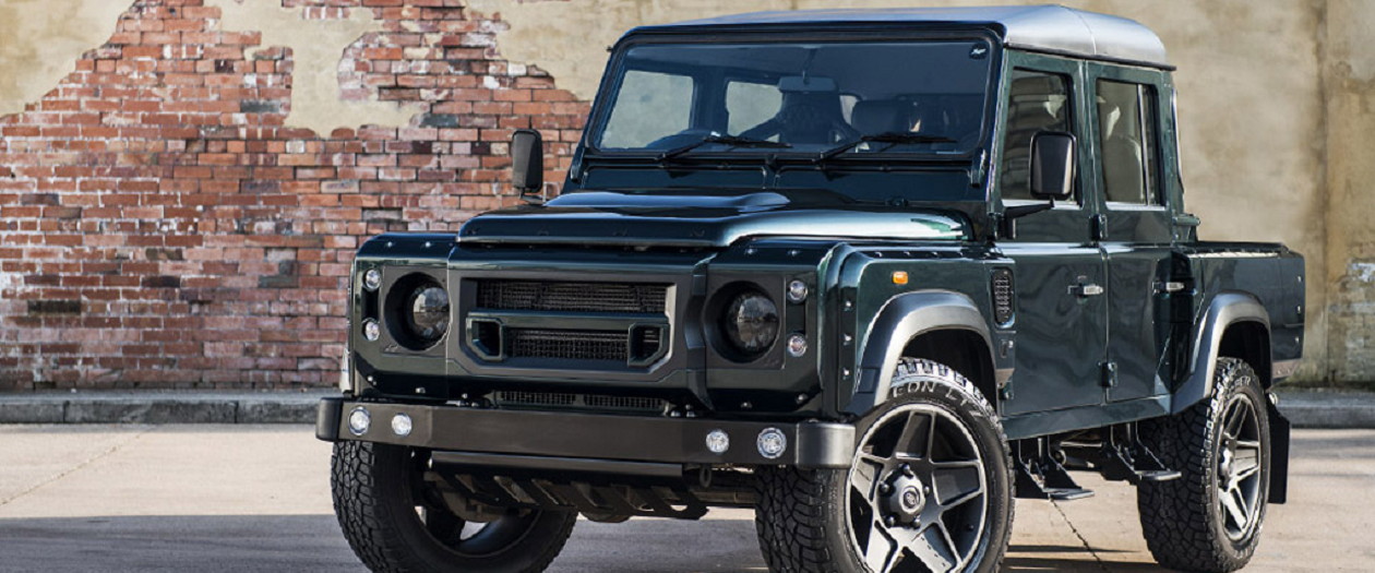 Kahn Design Brings Class to a Land Rover Defender Double Cab