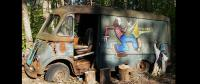 Aerosmith's First Tour Van Discovered in Massachusetts Back Yard