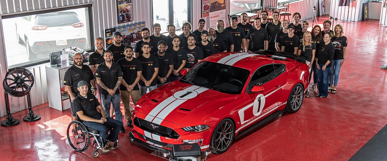 Hennessey's 10,000th car is a Mustang GT