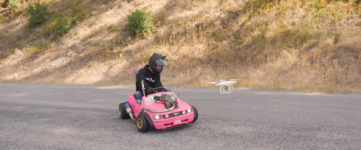 Local Company Develops a 70 MPH Barbie Kart