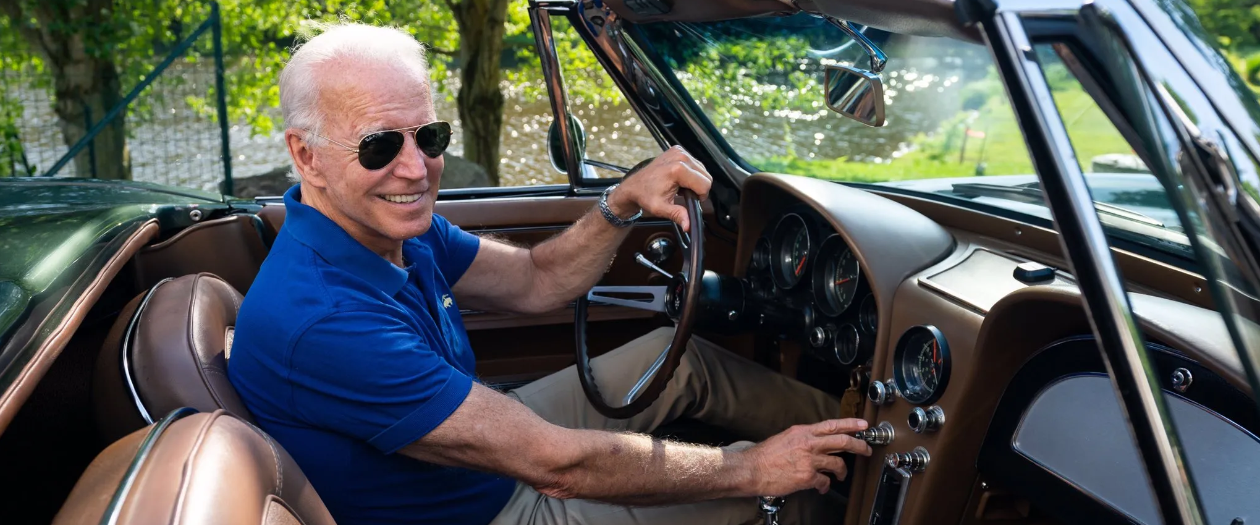 President Biden Will Get to Drive the First Electric Corvette