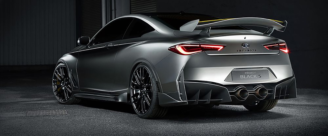 The 2019 Infiniti Q60 Black S Is Coming and It Looks like a Luxury Nissan GTR