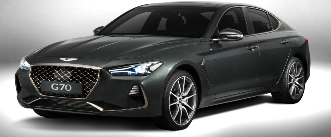Hyundai Genesis G70 Unveiled in 2 Sporty Models
