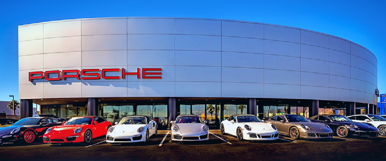 Gaudin Porsche Vegas Delivery is the New Way to Buy a Porsche