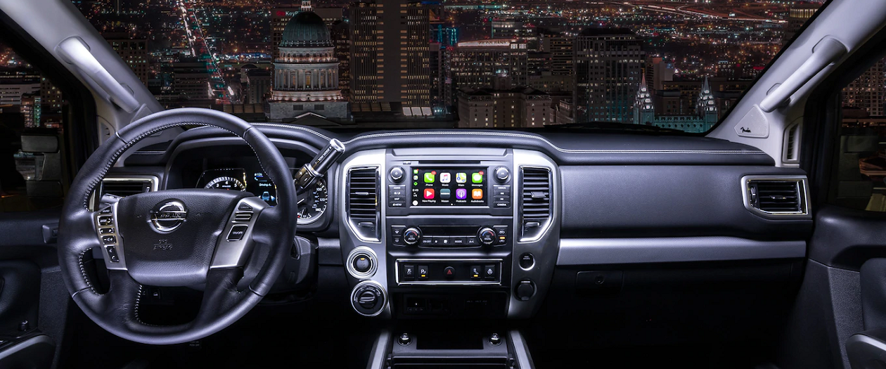 The 2019 Nissan Titan Gets Some Much Needed Interior Upgrades
