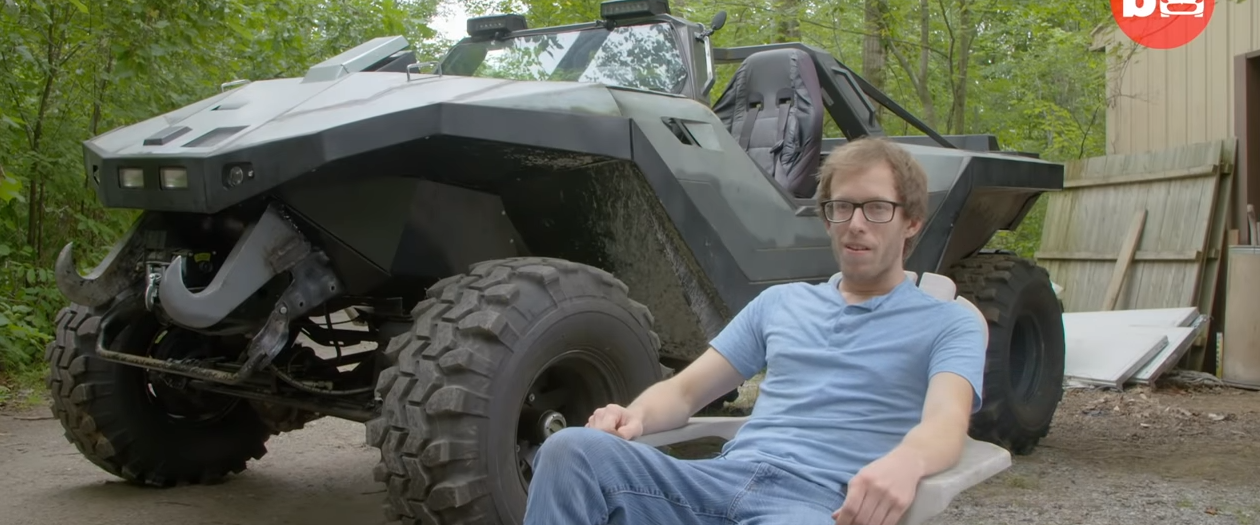 Man Recreates The Warthog From The Halo Video Game Series
