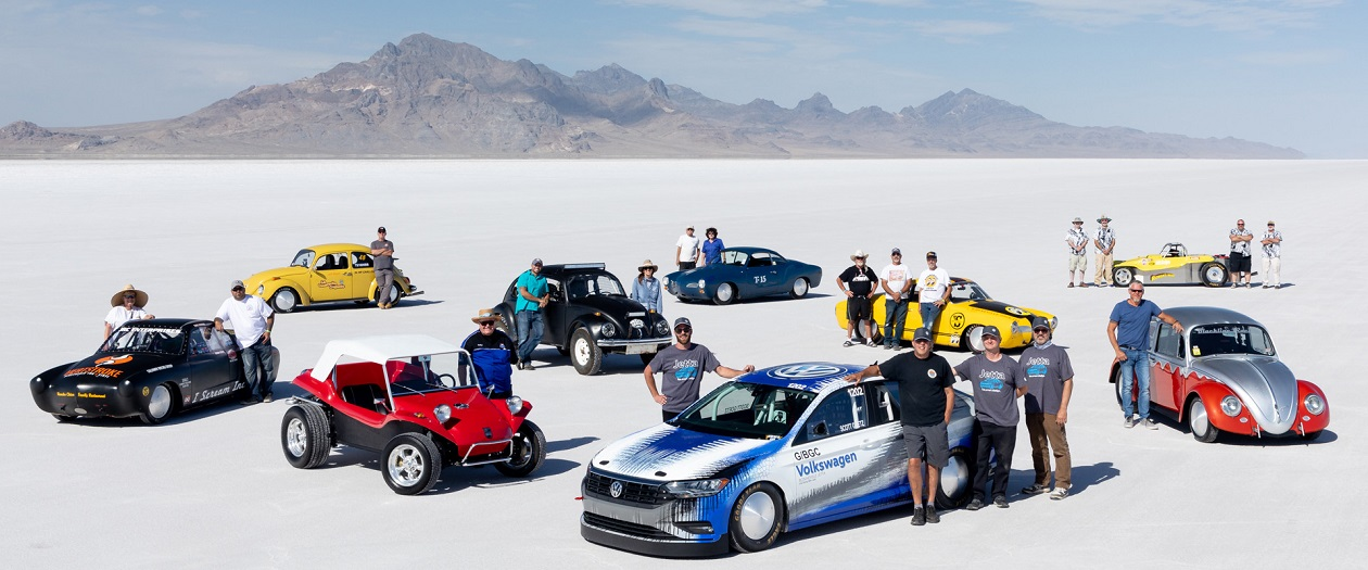 2019 Jetta Breaks Bonneville Salt Flats Speed Record at 210 mph