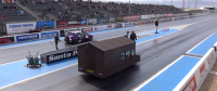 UK Man Drives World's Fastest Tool Shed at 98 MPH