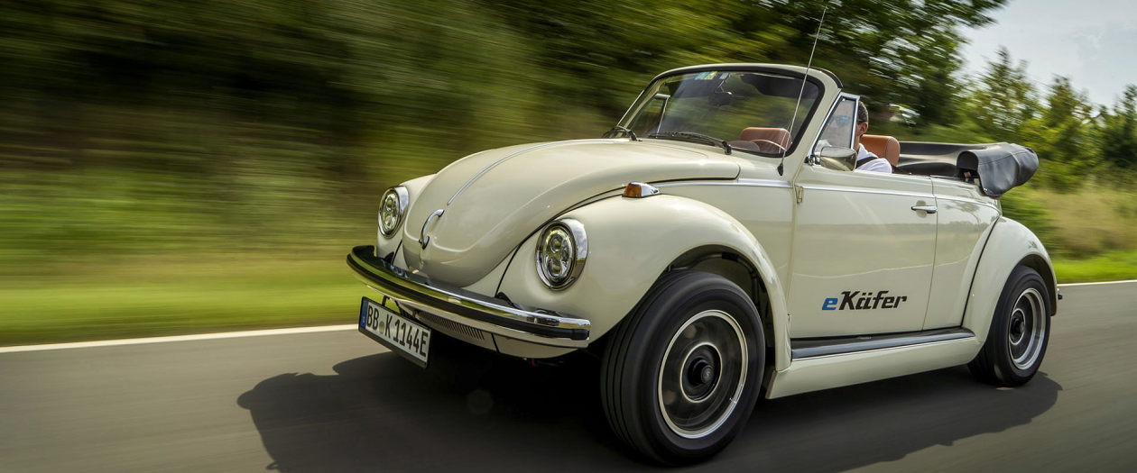 Volkswagen to Produce a Electric Classic Beetle