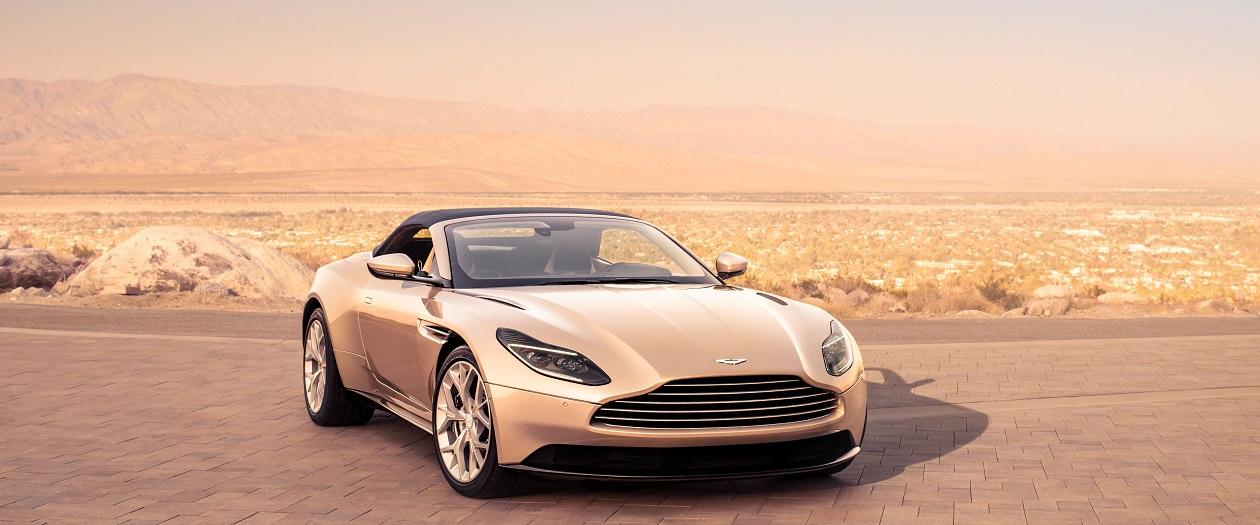 Aston Martin Reveals The DB11 Volante.