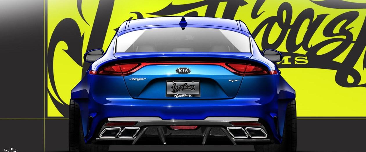 Kia to Show Modified Stinger GT at SEMA