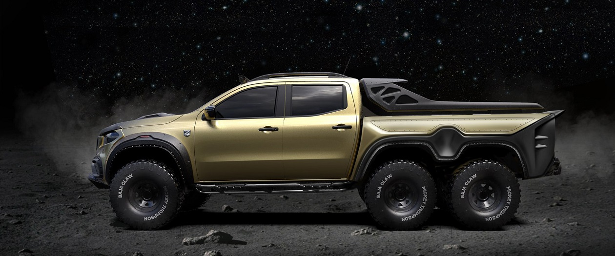 Pickup Design is Making a 6X6 Mercedes X-Class