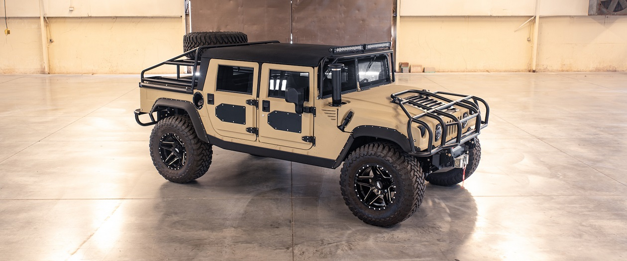 Mil-Spec Restomods the Hummer H1, for the Fourth Time