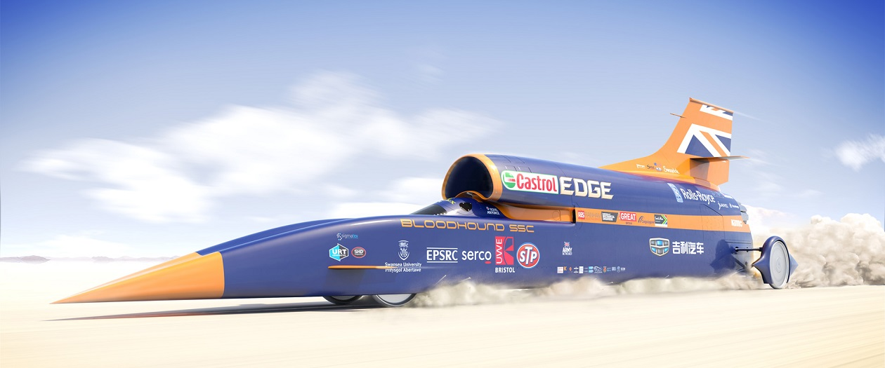 The 1,000-MPH Bloodhound SSC is on Hold During Financial Troubles